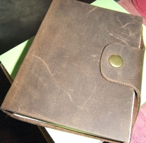 My fave leather journal. From yami-online.com